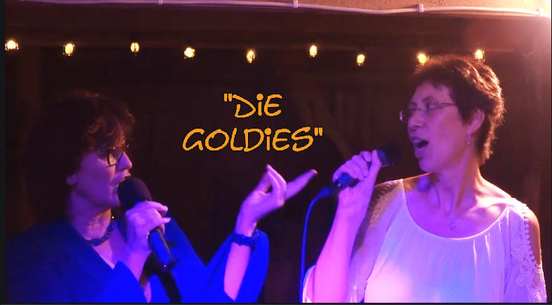 Die Goldies Visitenkarte-Rueck